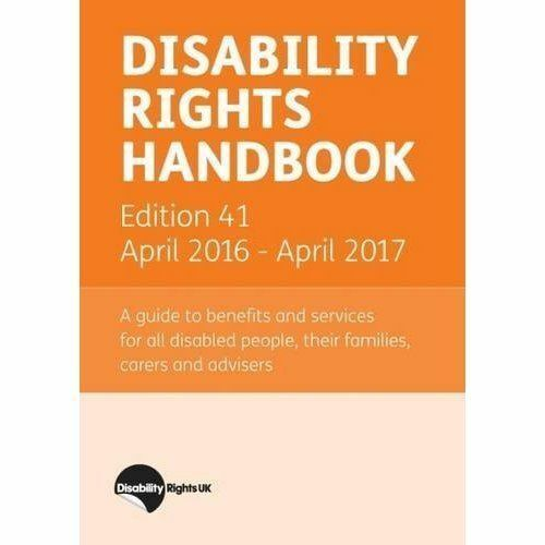 "1 of 1 - ""VERY GOOD"" , Disability Rights Handbook: April 2016 - April 2017, Book"