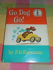 Go, Dog. Go! - P.D. Eastman 1961 HC Seuss Beginner w/ Book Dust Jacket