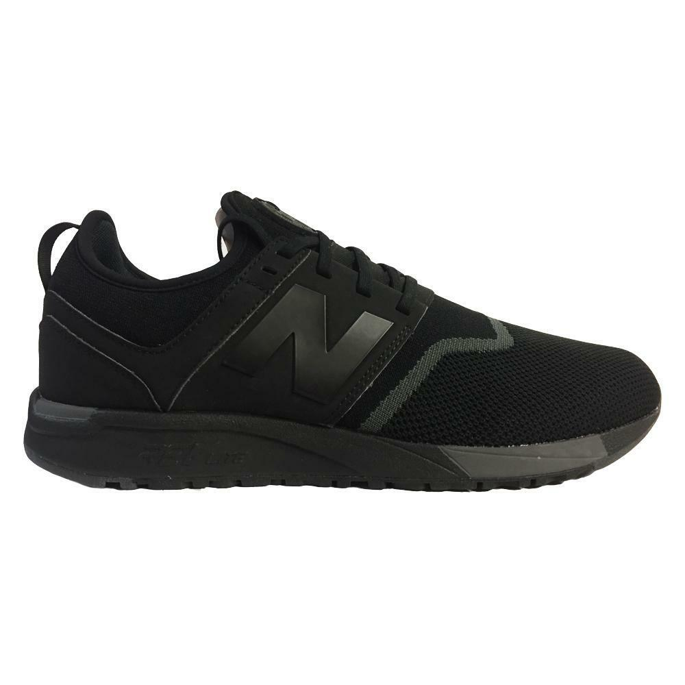 Mens NEW BALANCE 247 Black Trainers MRL247BY