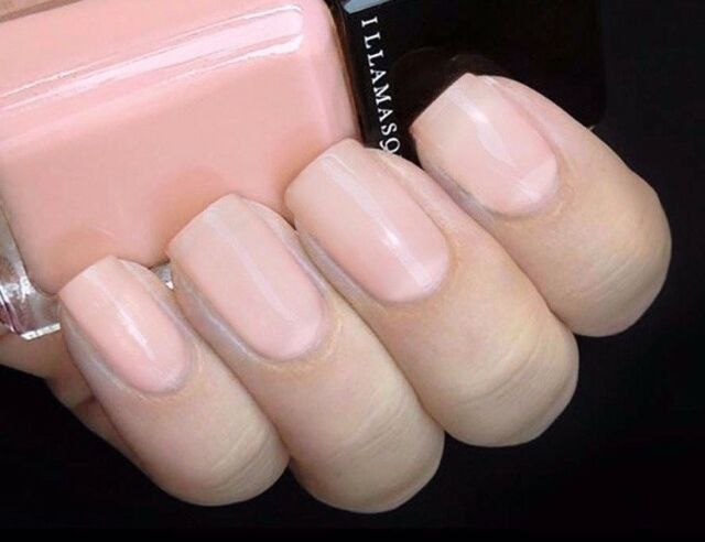Illamasqua Nail Veil Breathe Soft Delicate Pink *healthy Nails* Only ...
