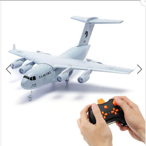 Nuevo C -17 transporte 14.6  envergadura hágalo usted mismo Radio Control avión material de polipropileno expandido