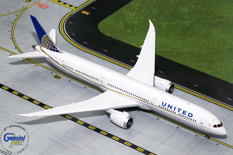 ahorra 50% -75% de descuento United Boeing Boeing Boeing 787-10 N78791 Gemini Jets G2UAL754 escala 1 200  envío gratuito a nivel mundial