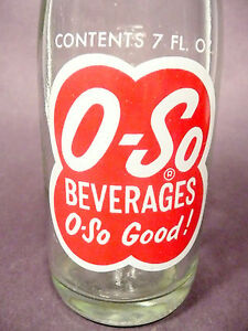 vintage-ACL-pop-SODA-BOTTLE-O-SO-of-CLEVELAND-OHIO-7-OZ-ACL-BOTTLE