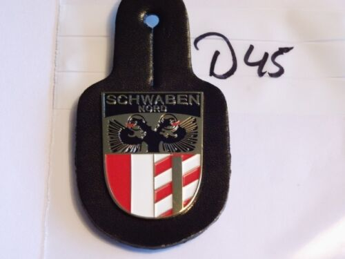 Polizei Brustanhänger Schwaben Nord 1 Stück d45