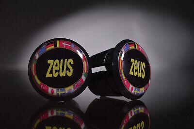 new Zeus Spain Handlebar End Plugs Bar Caps guidon bouchons manubrio calotte