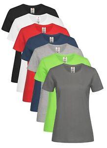 Stedman Femmes Col Rond Manches Courtes Coton Bio T-Shirt