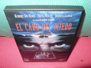 el cabo del miedo - de niro -  lange - scorsese - nolte - dvd