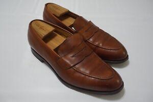 Edward Green 184 Last Brown Leather Mens Dress Shoes Sz 11/11.5 E