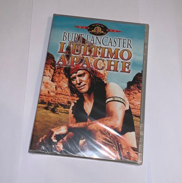 L'ULTIMO APACHE DVD RARO PRIMA STAMPA MGM - SIGILLATO (BURT LANCASTER)
