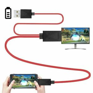 6-5-Feet-MHL-Micro-USB-to-HDMI-Adapter-Converter-Cable-1080P-HDTV-for-Andro-C3M3