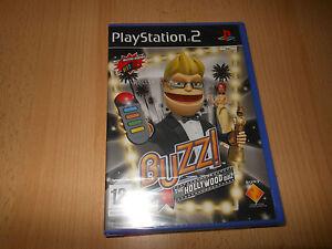 PS2-Buzz-The-Hollywood-Quiz-Nuovo-Sigillato-Pal
