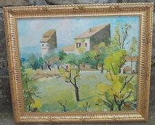 Huile Tableau Louis Javel Sisteron Alpes de Haute Provence @+