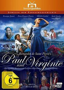 Paul-und-Virginie-Die-komplette-Abenteuerserie-et-4-DVD-Set-NEU-OVP