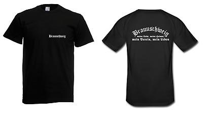Herren T-Shirt Braunschweig I Fussball  Verein I Sprüche I Fun I Lustig bis 5XL