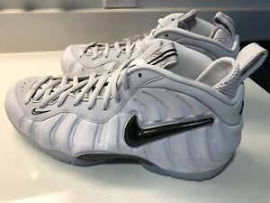 brand new 08d46 c7ff3 Details about 2018 Nike Air Foamposite Pro AS QS SZ 10.5 All-Star Swoosh  Pack Grey AO0817-001