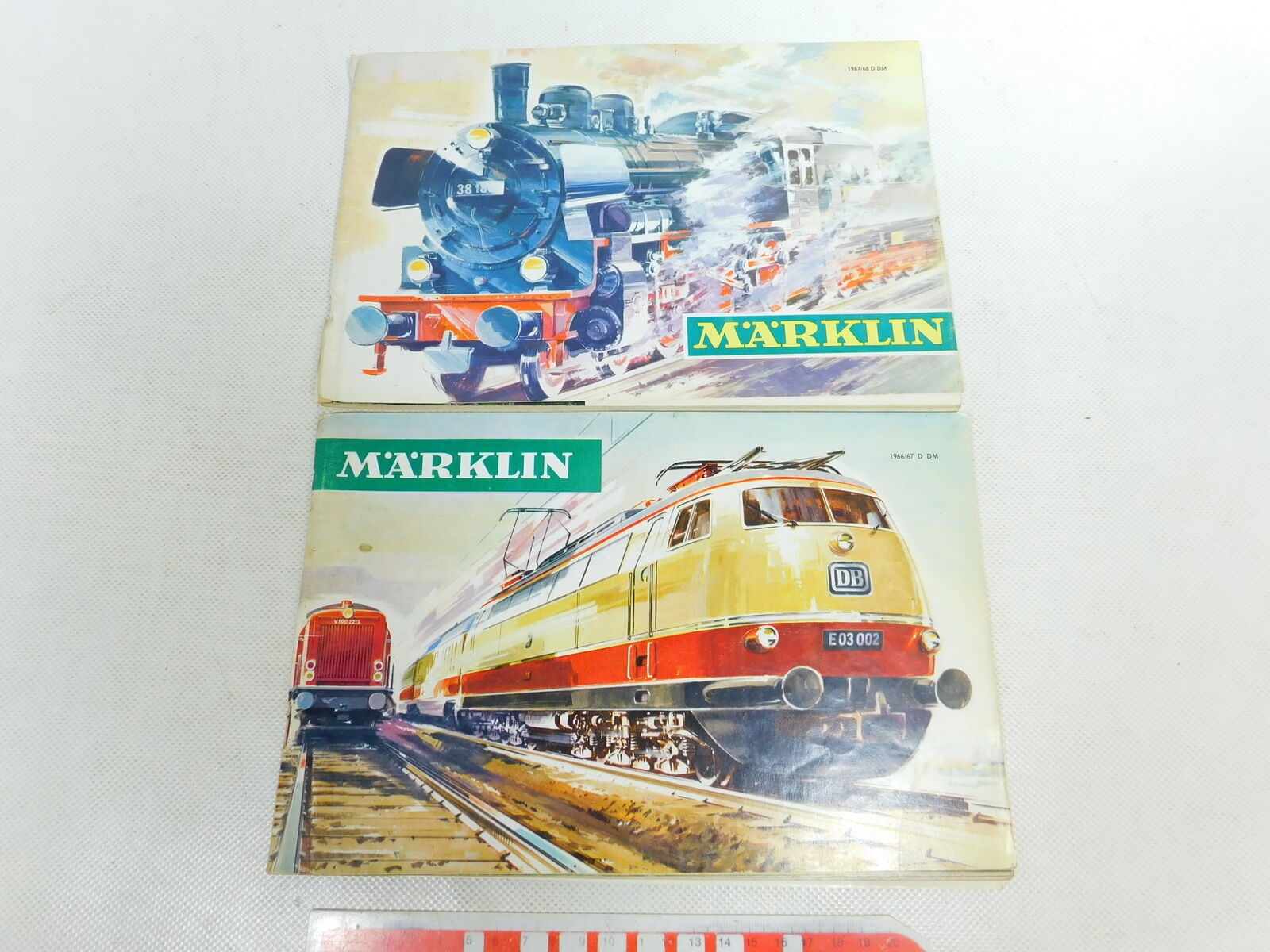 BW306-0,5x Märklin H0 Katalog ohne Gutschein  1966 67 D DM + 1967 68 D DM