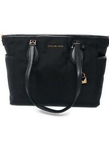 bb4d6eda891c30 Michael Kors Connie Nylon Diaper Baby Bag in Black 192877328056 | eBay