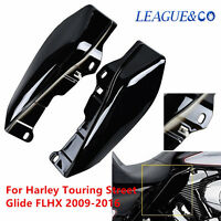 Motor Mid-frame Air Deflector Accents Trim For Harley Electra Street Tri Glide Z