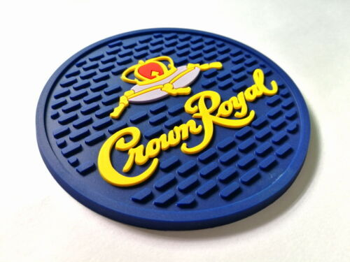 CROWN ROYAL CANADIAN WHISKY MIXED SET OF 8 BAR MAT SPILL MAT COASTERS NEW