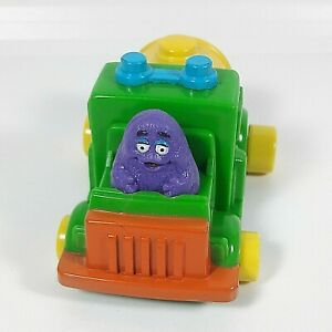 1990 Vintage Toy Grimace Mcdonald S Driving A Truck Happy Meal Collectibles Ebay