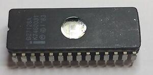 EPROM-D27128A-von-Intel-gebraucht-geloescht-geprueft-Top