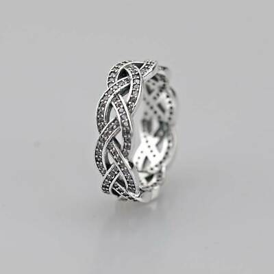 Authentic 100/% 925 Sterling Silver Dreamy Dragonfly Clear CZ Ring Size 5 6 7 8 9