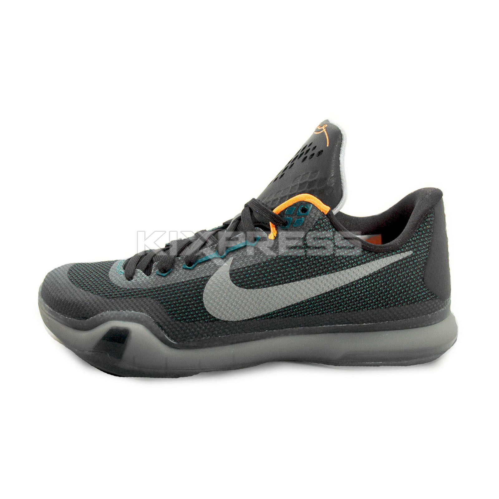 Nike Kobe X EP [745334-308] Basketball Flight Pack Teal/Silver-Black-Grey