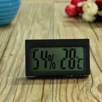 Digital LCD Temperature Hygrometer Thermometer Humidity Meter Vivarium Reptile