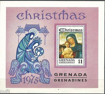 Grenada Grenadines scott # 136 ** MNH Navidad / Christmas 1975