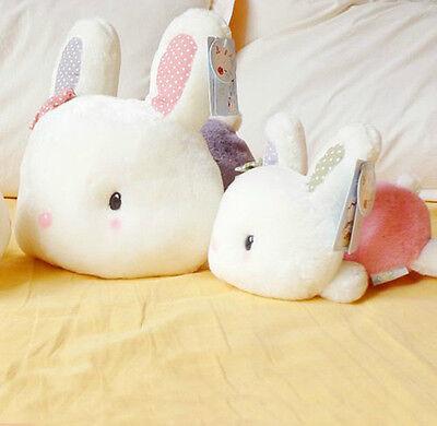 1X Popular Rabbit Plush Soft Toy Baby Kids Children Christmas Gift HOT US HG
