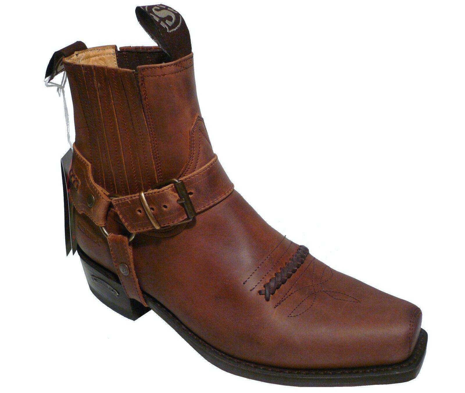Sendra Boots Cowboyboots Style No. 6445 brown
