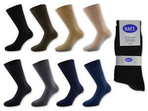 6-42-Pair-Men-039-s-Socks-100-Cotton-Colour-Selection-Black-Jeans-Grey-Beige