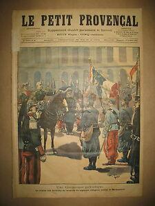 INVALIDES-DRAPEAU-Rgt-ALGERIE-RETOUR-MADAGASCAR-JOURNAL-LE-PETIT-PROVENCAL-1898
