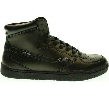 GUESS uomo. Scarpe alte. Sneaker nera. Numero 44.