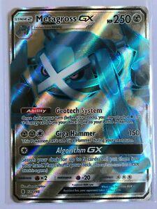 Metagross-GX-FULL-ART-ULTRA-RARE-139-145-Guardians-Rising-Pokemon-TCG-NM-Holo