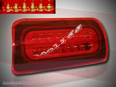 94-04 Chevy S10 GMC Sonoma Pickup Red LED 3rd Third Tail Brake Light