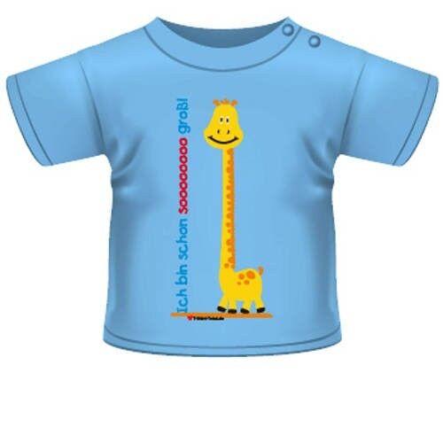 Anna /& Philip Baby Kind Fun Spruch T-Shirt hellblau Ich bin schon sooooooo groß