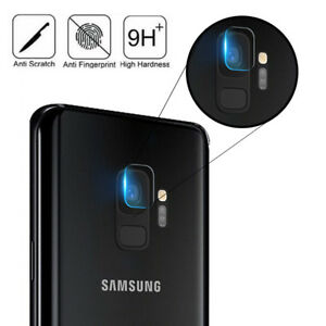 more photos 91ef7 85279 Details about For Samsung Galaxy S9 Tempered Glass Back Camera Lens 9H  Protector Film Cover