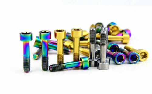 4pcs M5 x23mm Titanium bicycle SRAM XO fixing Screws bolts