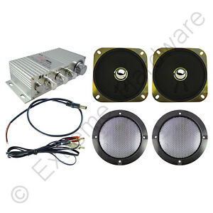 Details about Wangma WM-333 Stereo Amplifier & 2 x Speakers Kit for Arcade  Machine Cabinet