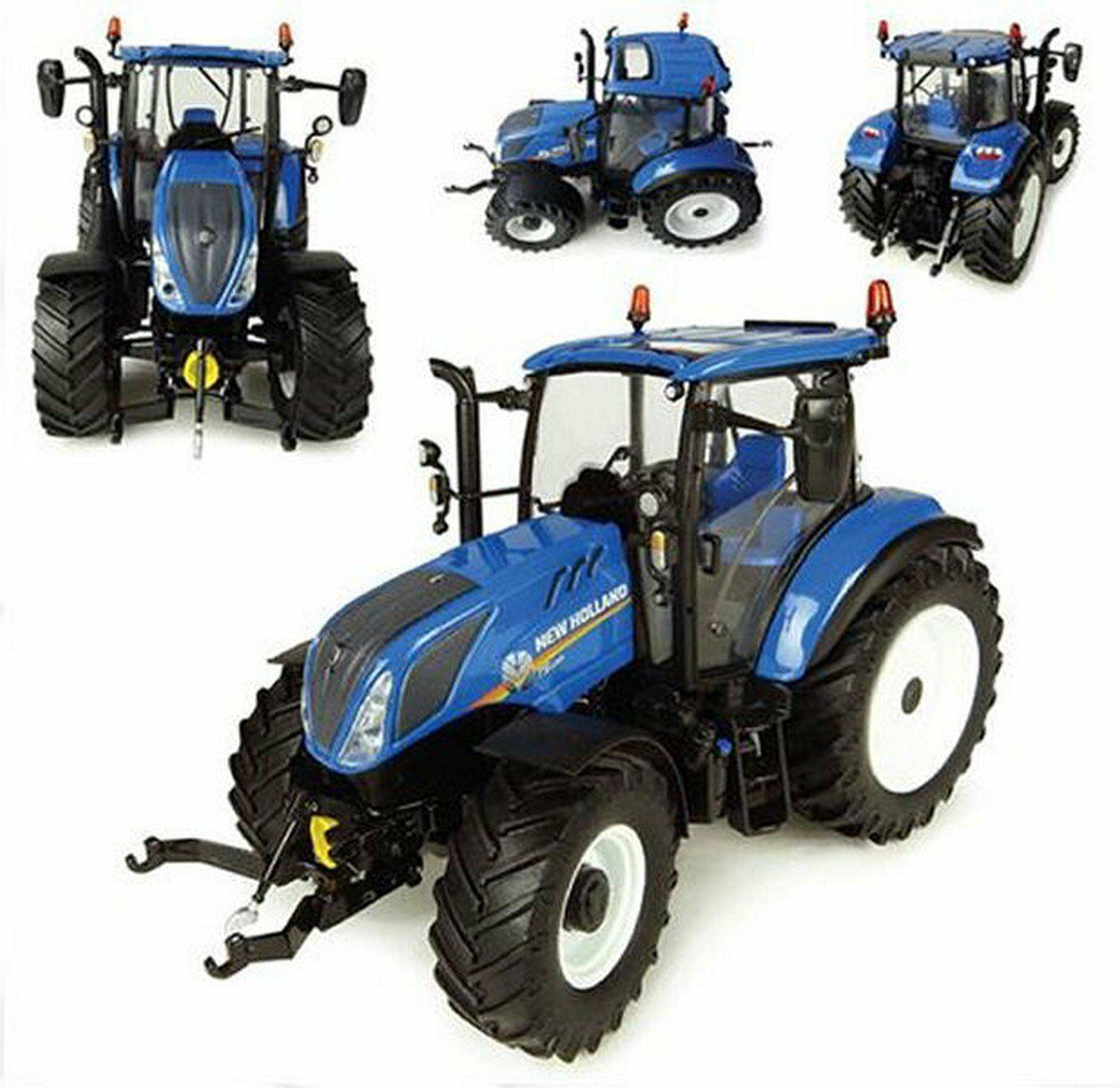 4957 UNIVERSAL HOBBIES New Holland T5.120 Tracteur 1 32 SCALE BOXED