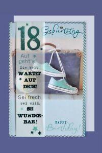 Geburtstag karte 18