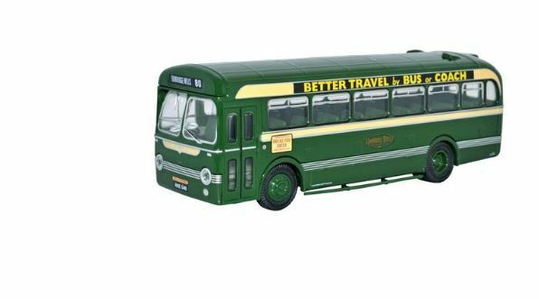 Oxford Diecast 76SB002 Saunders Roe SARO Bus Maidstone & District Route 80