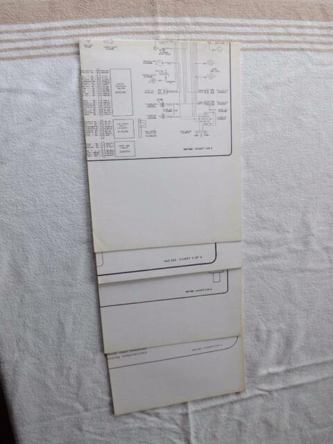 White 9700 Combine Charts Lot 4 Hydrostatic System Wiring