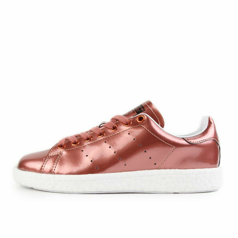 Adidas Stan Smith Boost W Copper Metallic blanc Chaussures baskets cuivre blanc