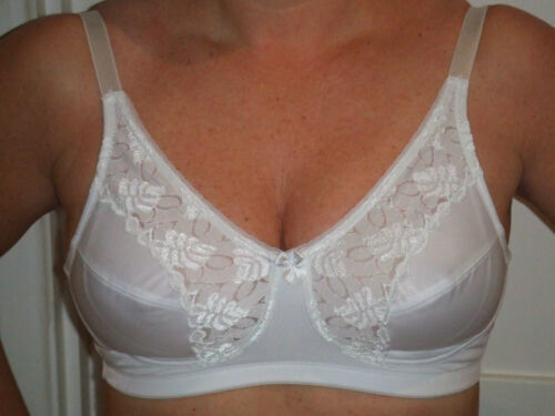 Vanity Fair White Non-Padded Soft Cup Bra Style 8502526 Sizes 36D /& 36E NEW!!