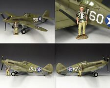 KING & COUNTRY U.S. AIR FORCE AF041 PEARL HARBOR P40 TOMAHAWK FIGHTER MIB
