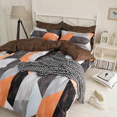 HGmart Bedding Comforter Set Bed In A Bag 5Pcs Microfiber Bedding Sets Blue Leaf
