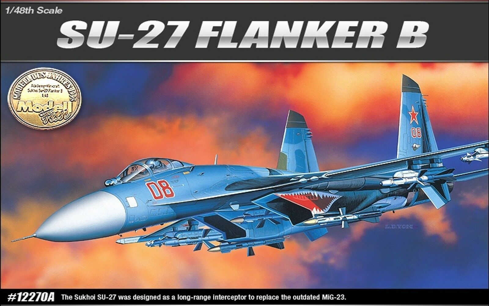 1 48 Russia AirForce Su-27 Flanker B