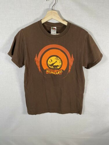 Taking Back Sunday Vintage T Shirt 2000's Tour Con
